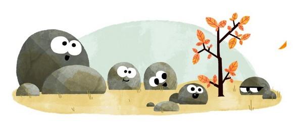Google Doodle Autumn