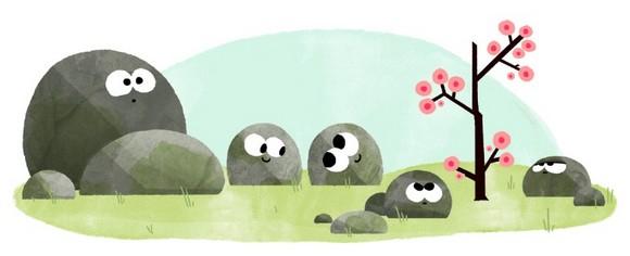Google Doodle Spring